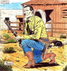 Tex Cover 8 - Galaksi Yayinci. by aliduzgun