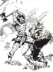 Conan Fight by aliduzgun