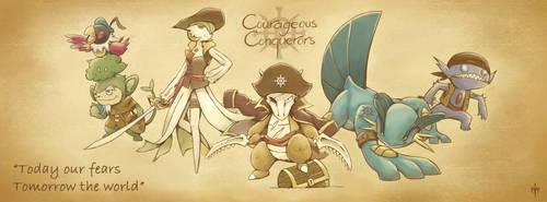 The Courageous Conquerors by RaphaelSais