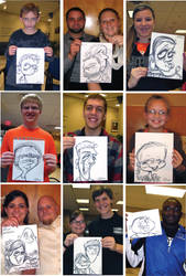 Kiracatures Drawn Live by Kiracatures