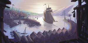 PKMN-Frontier - the Settlement of South Port