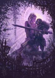 Purple Love - Zine Piece by Aquaria-Moon