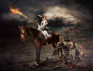 Don Quixote by Lestrim