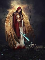 Warrior of light by Lestrim