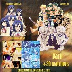 Pack Happy +20 Watchers by akujomicmic