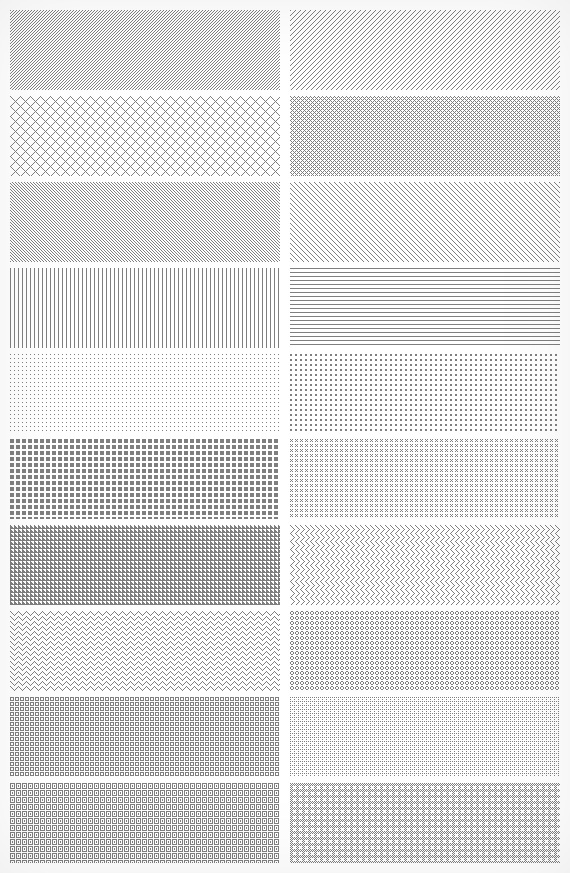 Share light color pattern Photoshop style by akujomicmic