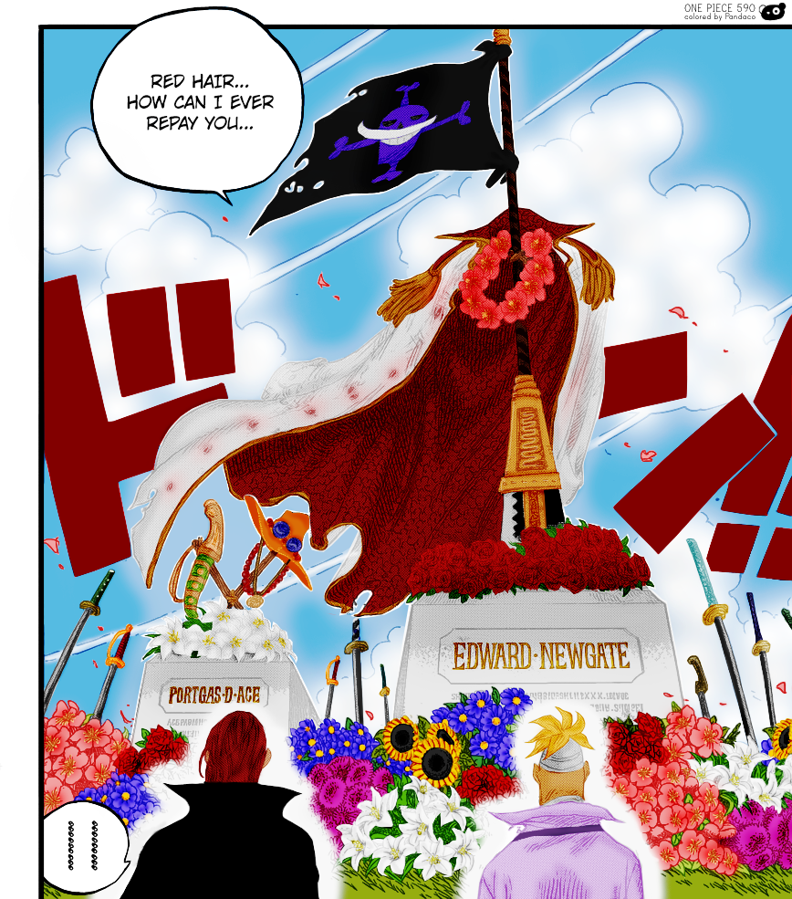 One piece rencontre entre shanks et barbe blanche