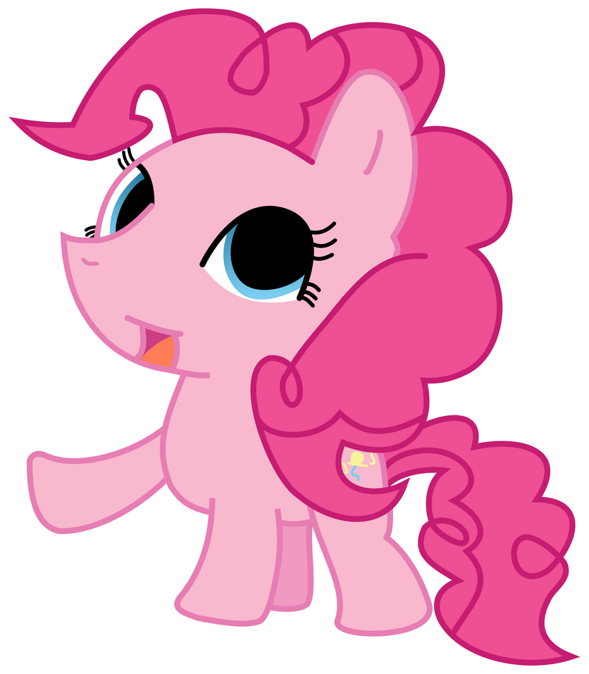 Chibi Pinkie Pie by strawbellycake
