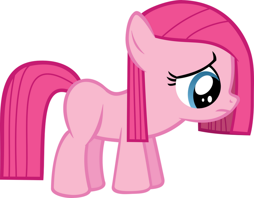 Sad Pinkie Pie (remake) by strawbellycake