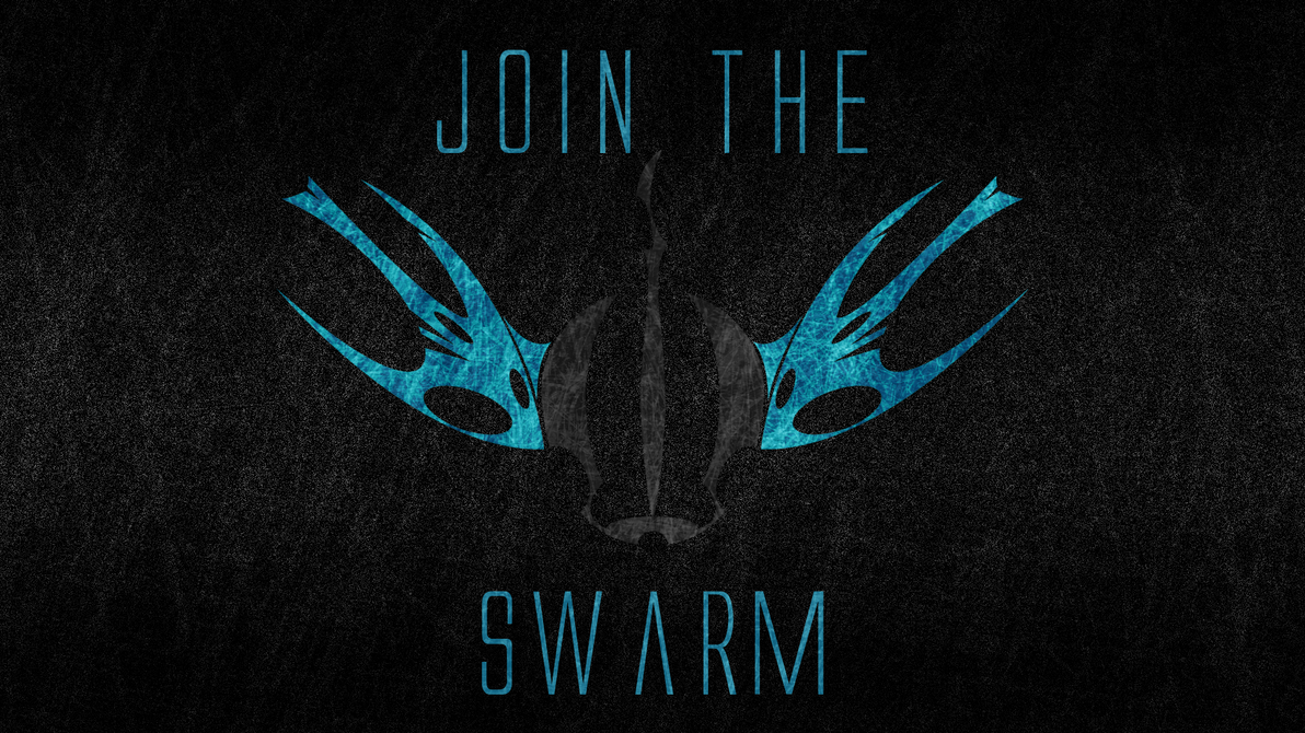 Join the swarm - Wallpaper by strawbellycake