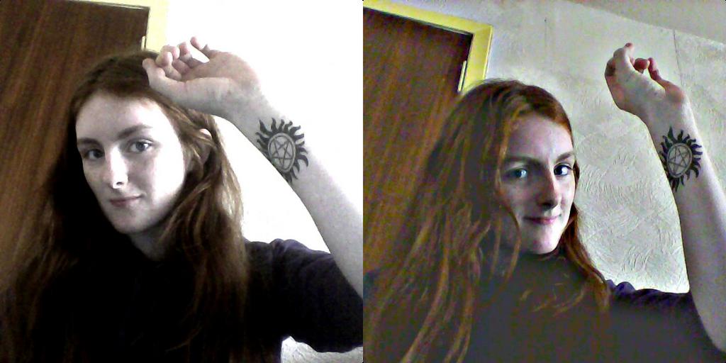 Broken Pentagram Tattoos