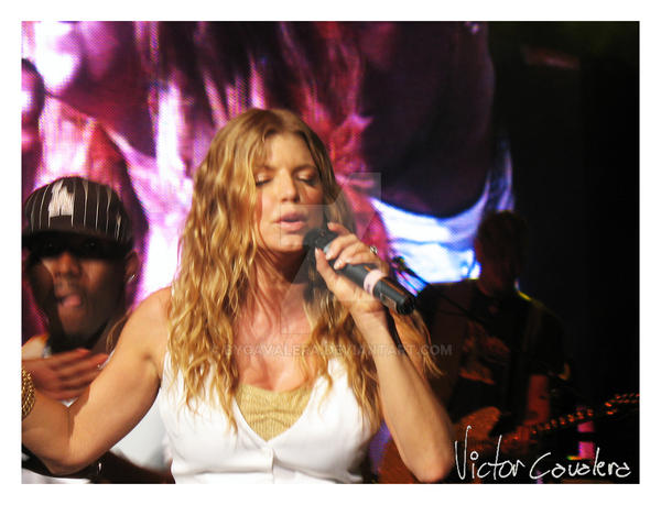 Fergie Concert II by byCavalera