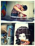 Stencil Process by byCavalera