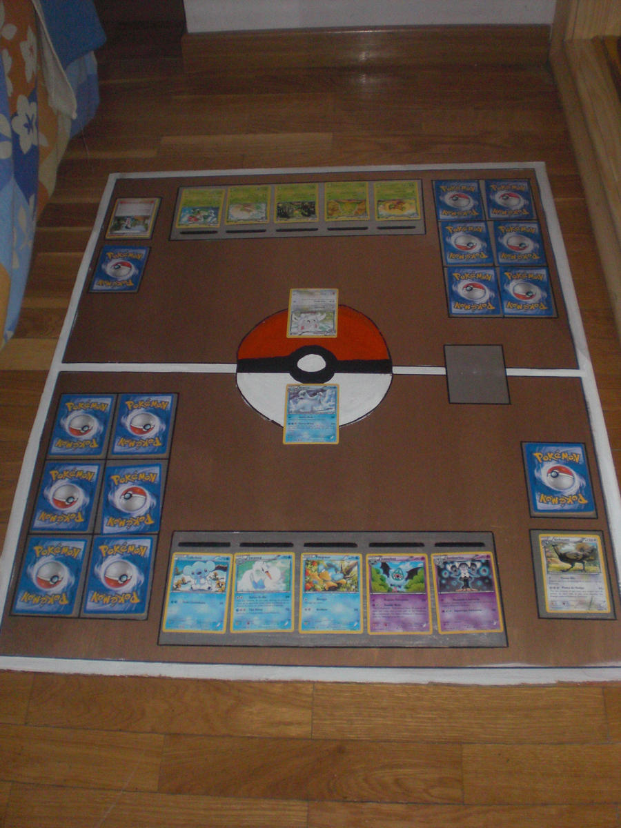 pokemon tcg battlefield by martadr on deviantart