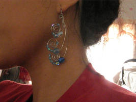 Water tribe Earrings by maiminekura32
