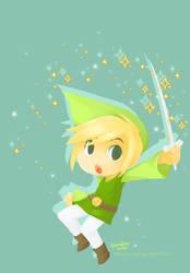 Little Hero Toon Link by tomokii