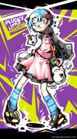 Plucky Little Shredster by tomokii