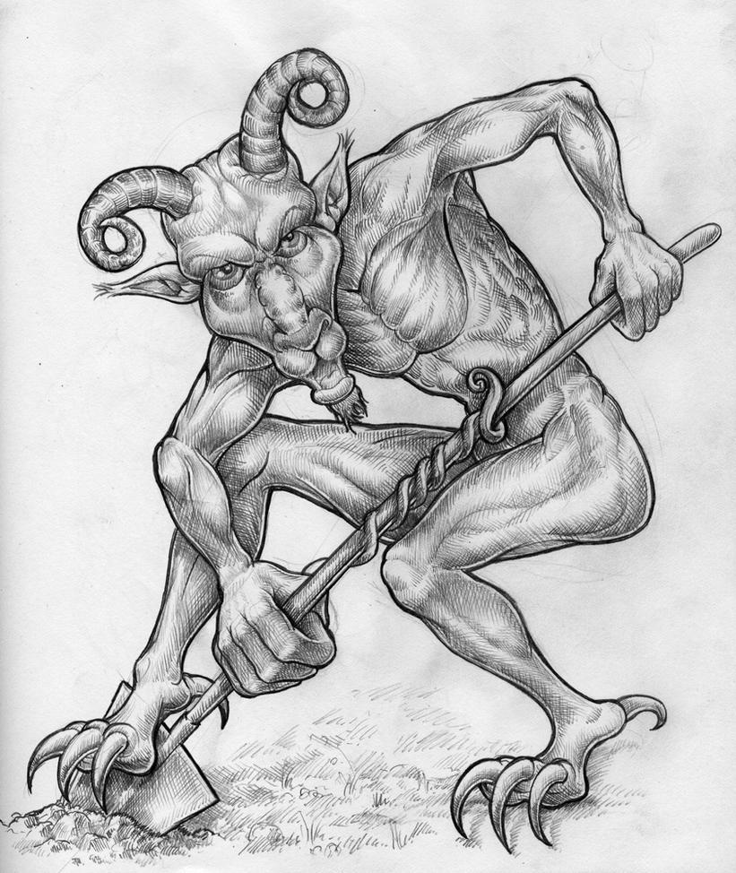 Devil on strike by carbrax