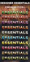 Designer Essentials Military Vol1 800x2000