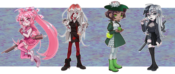 [OPEN 1/4] Magical Girl Adopts