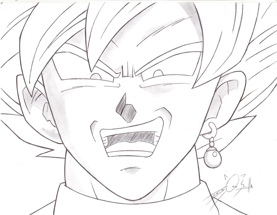Black Goku By Gaomsevel On Deviantart