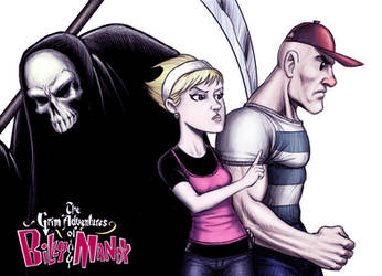 Billy, Mandy, Huesitos - color by deimocrates