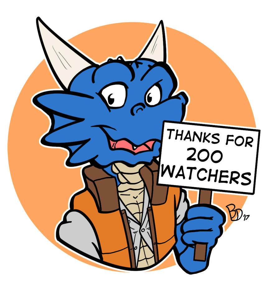 200 Watchers by The-BlueDragoon