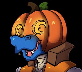 Happy  Halloween! by The-BlueDragoon