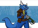 Fallout Blue