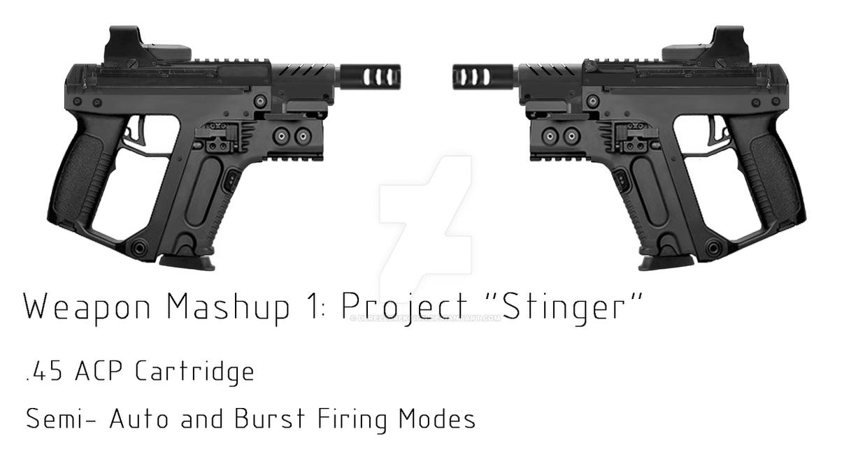 Concept Pistol 'Stinger' by DeRezzurektion