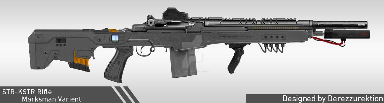 STR-KSTR Rifle Marksman Varient by DeRezzurektion