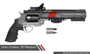 Space Cowboy .357 Magnum Revolver  (Space Magic)