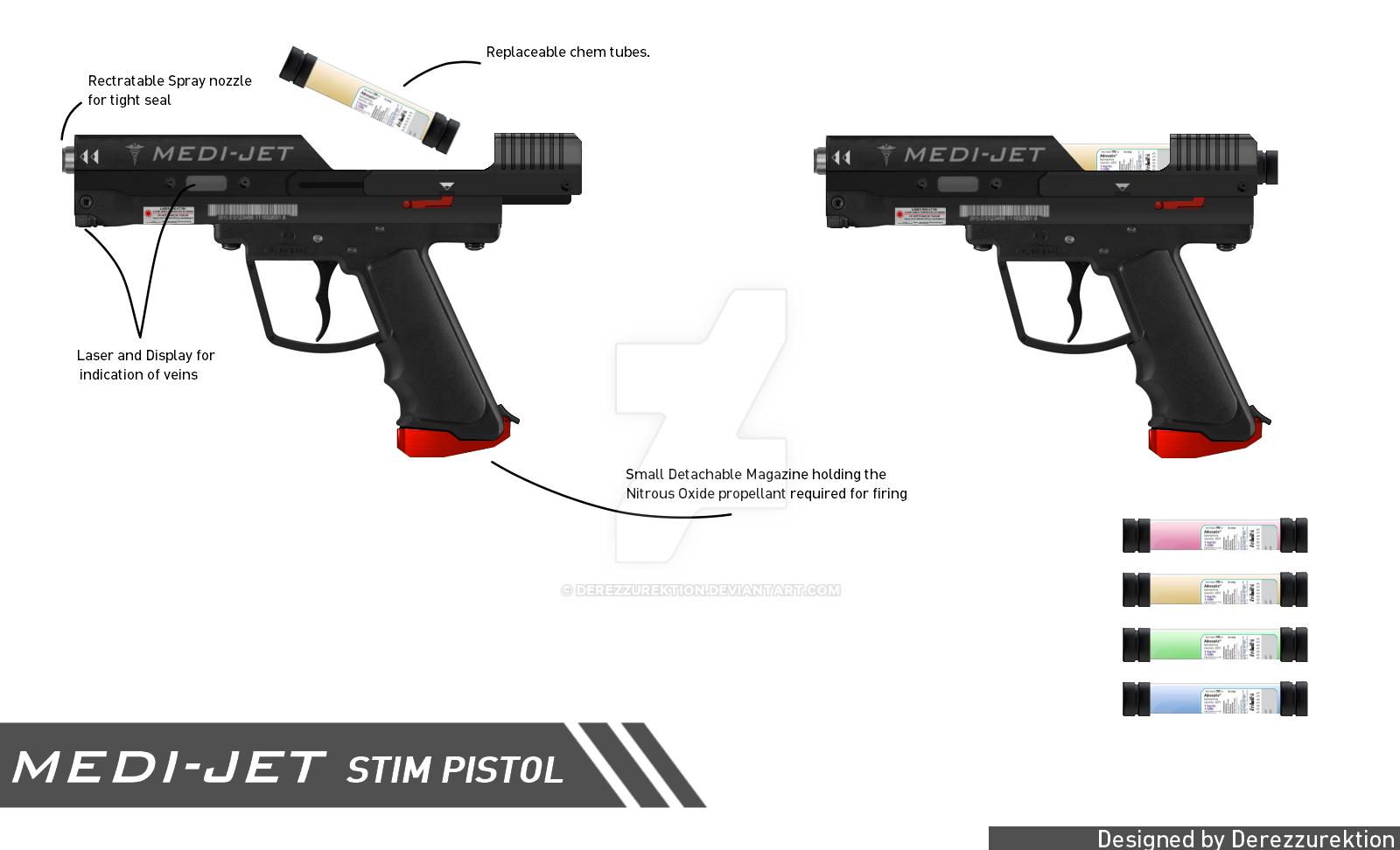 Medi-Jet Stim Pistol by DeRezzurektion