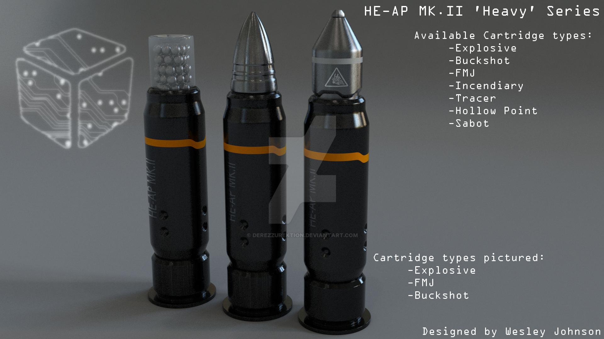 HE-AP Rounds by DeRezzurektion