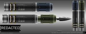 [FREEBIE] Unused Railgun Ammunition Concept by DeRezzurektion