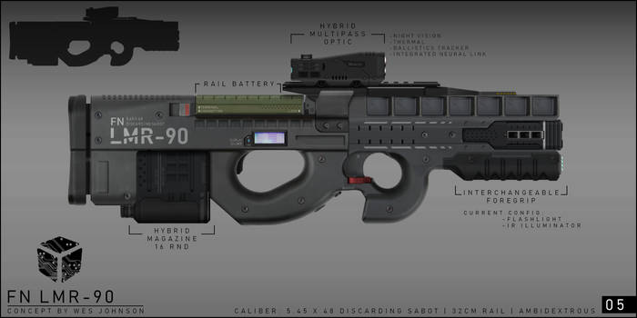 FN LMR90 by DeRezzurektion