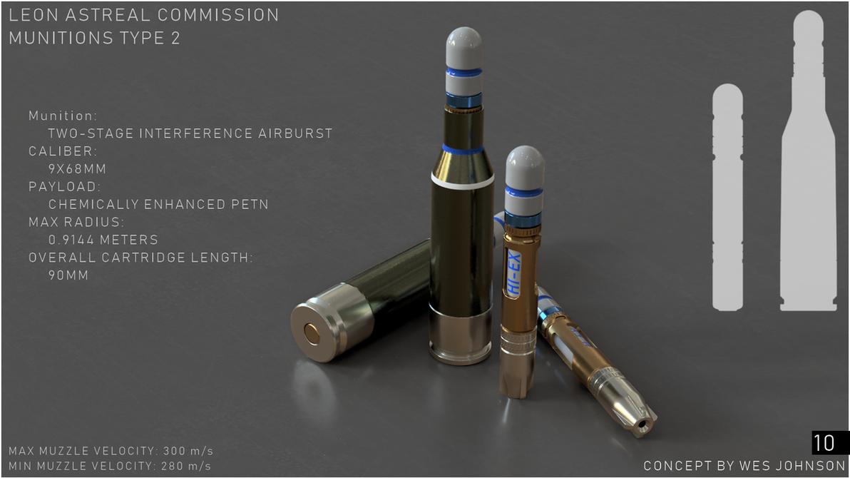 Two Stage Air-Burst Interference Munition by DeRezzurektion