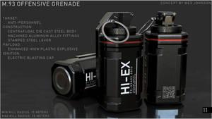M93 Offensive Grenade by DeRezzurektion