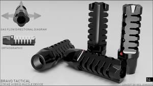 Strike Hybrid Muzzle Device (Commission based)