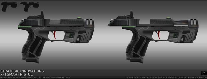 Strategic Innovations X-1 Smart Pistol