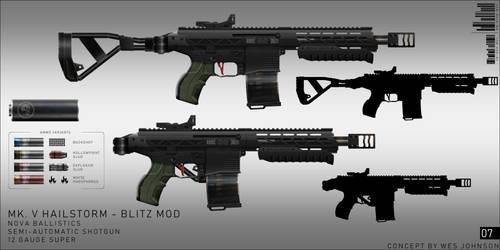 Mk V. Hailstorm - Blitz Mod
