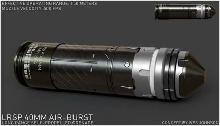 LRSP 40mm Air-Burst Munition