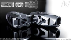 Strelok Muzzle Device Concept