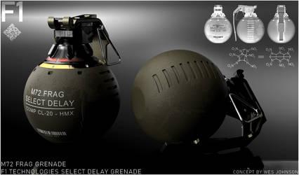 F1 Technologies - M72 Frag Grenade