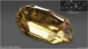 Yellow Kyber Crystal