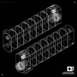 Mullins-Pierce Suppressor Wireframes