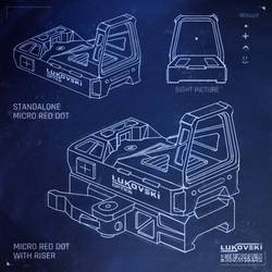 Lukovski Micro Red Dot Sketch
