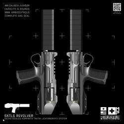 Mullins-Pierce Co. SKTL Revolver - Body Style 1