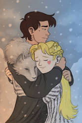 There must always be a Starco in Winterfell