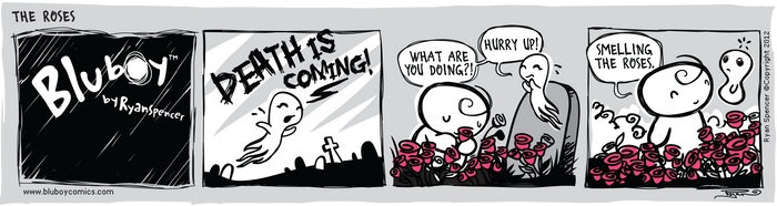 BluBoy: Daily - The Roses by bluBoyComics